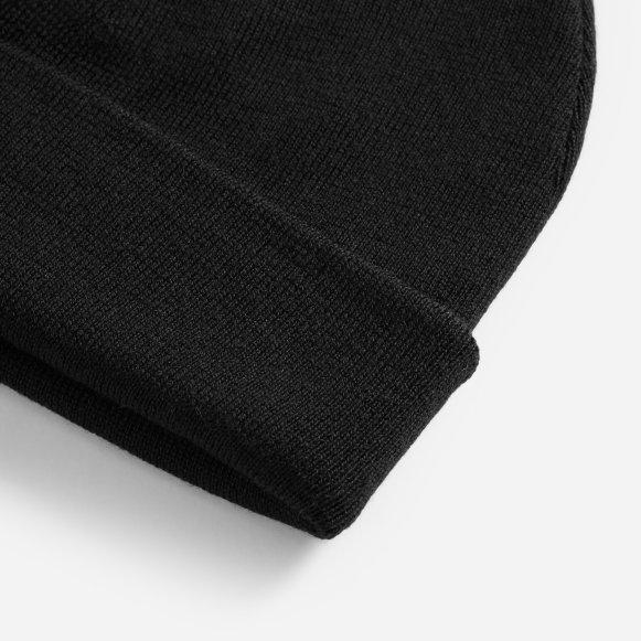 The Merino Wool Beanie in Black 1d4946856b3