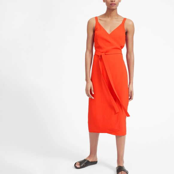 Womens Japanese Goweave Tank Wrap Dress Everlane