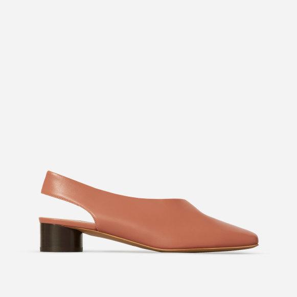 681b9067ff6 The square toe slingback in dark rose jpg 581x581 Square toe sling back heel