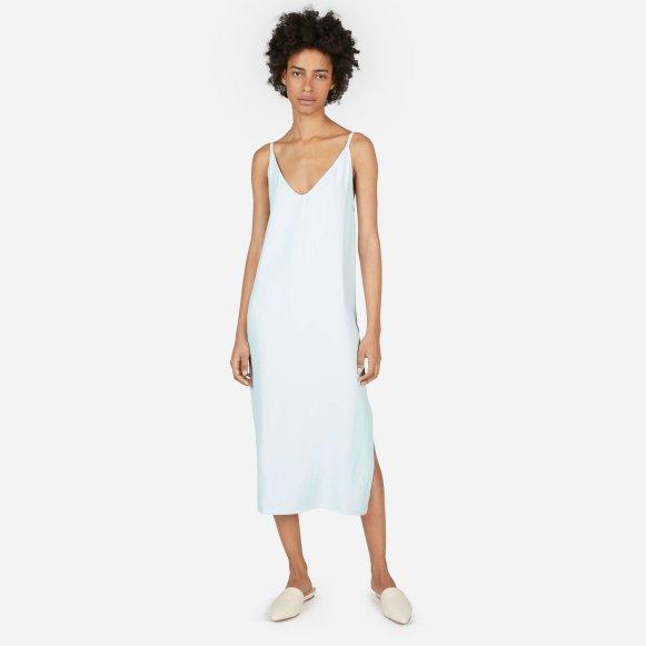 Womens Japanese Goweave Long Slip Dress Everlane