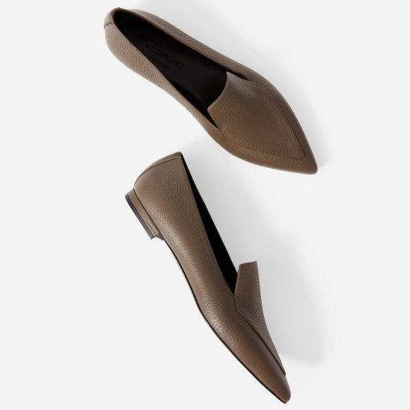 868c2a6062d The Boss Flat in Dark Taupe