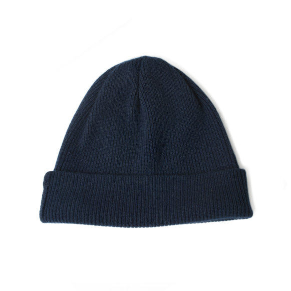 e521b798caf The Cashmere Hat in Navy Blue