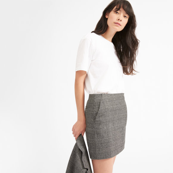 Womens Wool Mini Skirt Everlane
