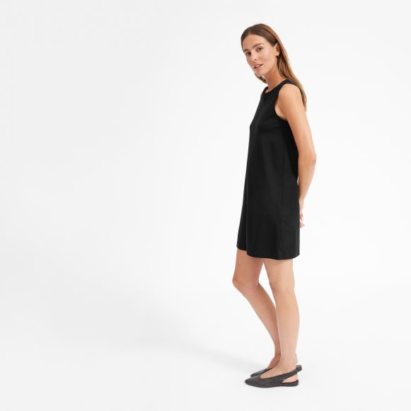 Womens Luxe Cotton A Line Tank Dress Everlane