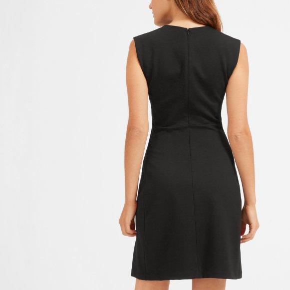 Womens Sleeveless V Neck Flare Dress Everlane