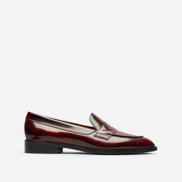 fccb8add1c5 The Modern Penny Loafer in Oxblood