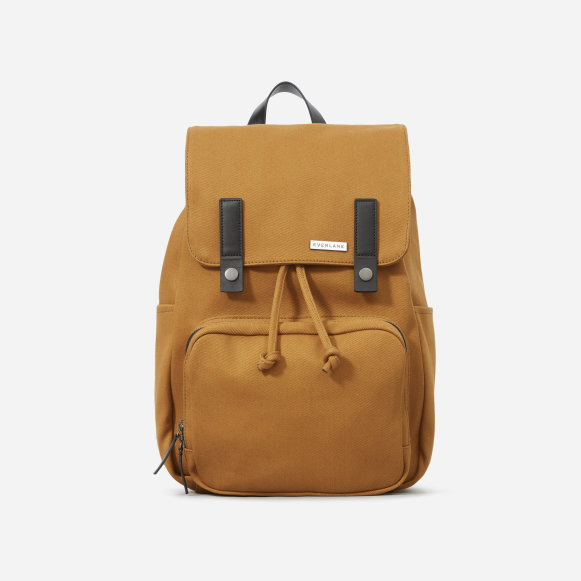 f563fd76c8 The Modern Snap Backpack in Golden Brown