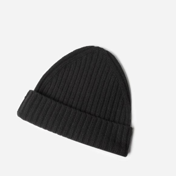 e32d6e39a0e3 The Wool-Cashmere Beanie in Black