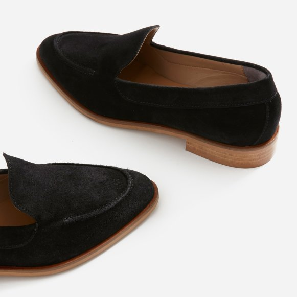 ac4a0eb074a The Modern Loafer in Black Suede