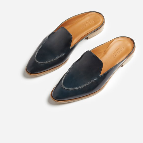 b14a8197ea5 The Modern Loafer Mule in Navy