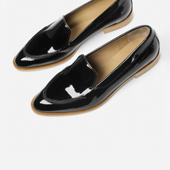 8b0d0bb60ae The Modern Loafer in Black Patent