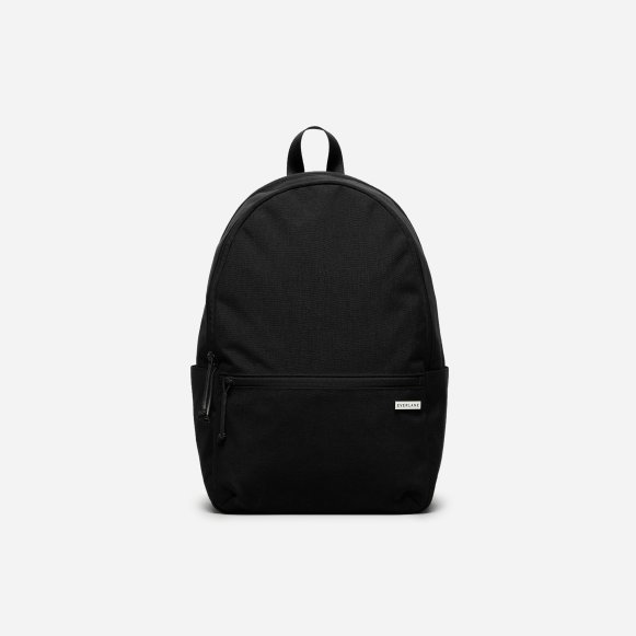 2bbee452de3 The Street Nylon Zip Backpack - Small in Black
