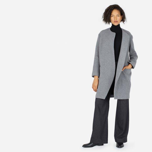 56e8c641 The Premium Wool Oversized Unstructured Coat