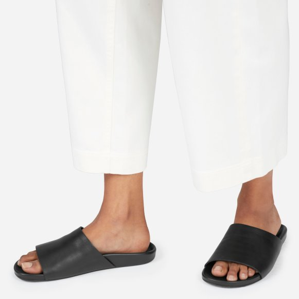 cc64bf624e7 The Form Slide Sandal in Black
