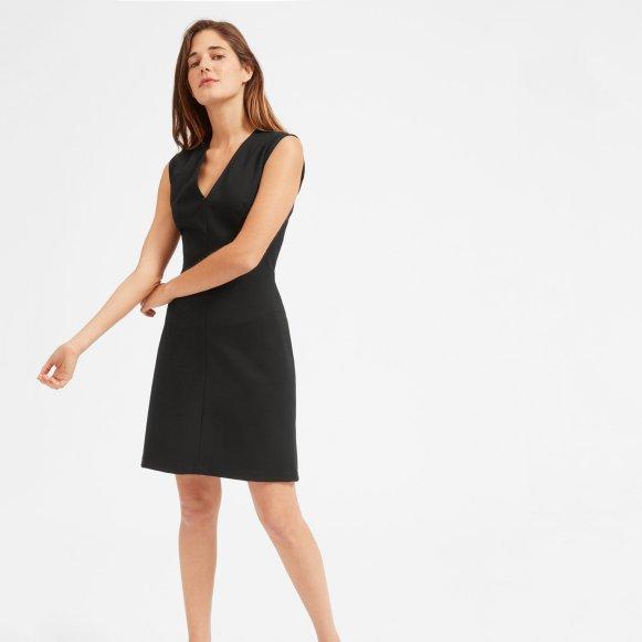 e8d2538410 The Sleeveless V-Neck Flare Dress —  70