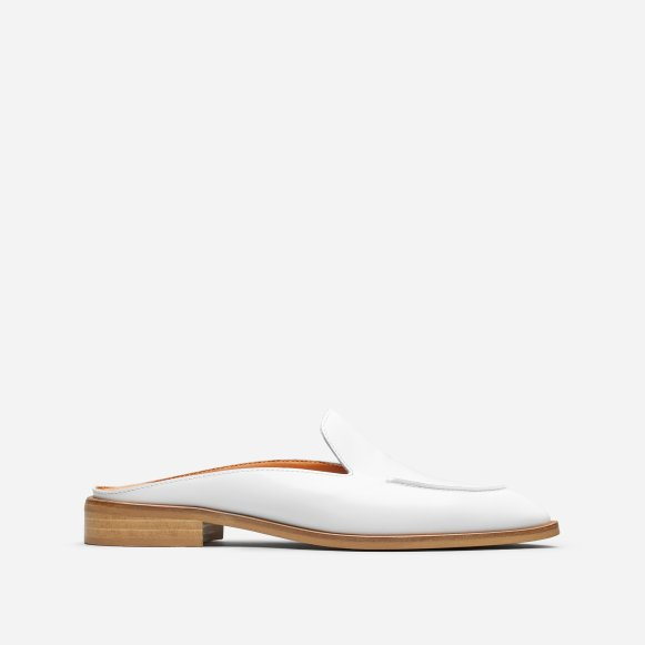 535f3c37550 The Modern Loafer Mule in Buffed White