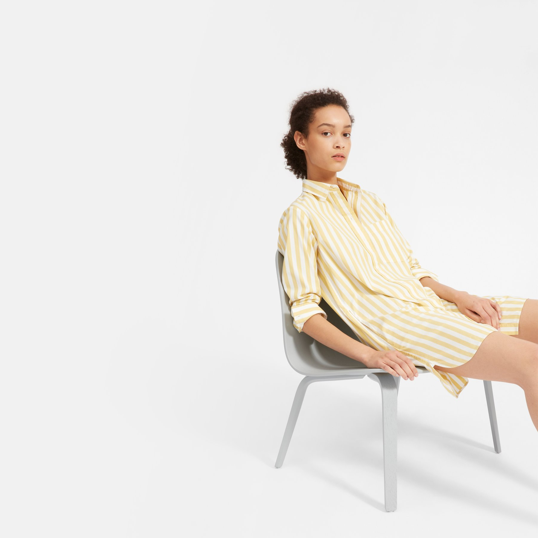 The Cotton Shirtdress by Everlane