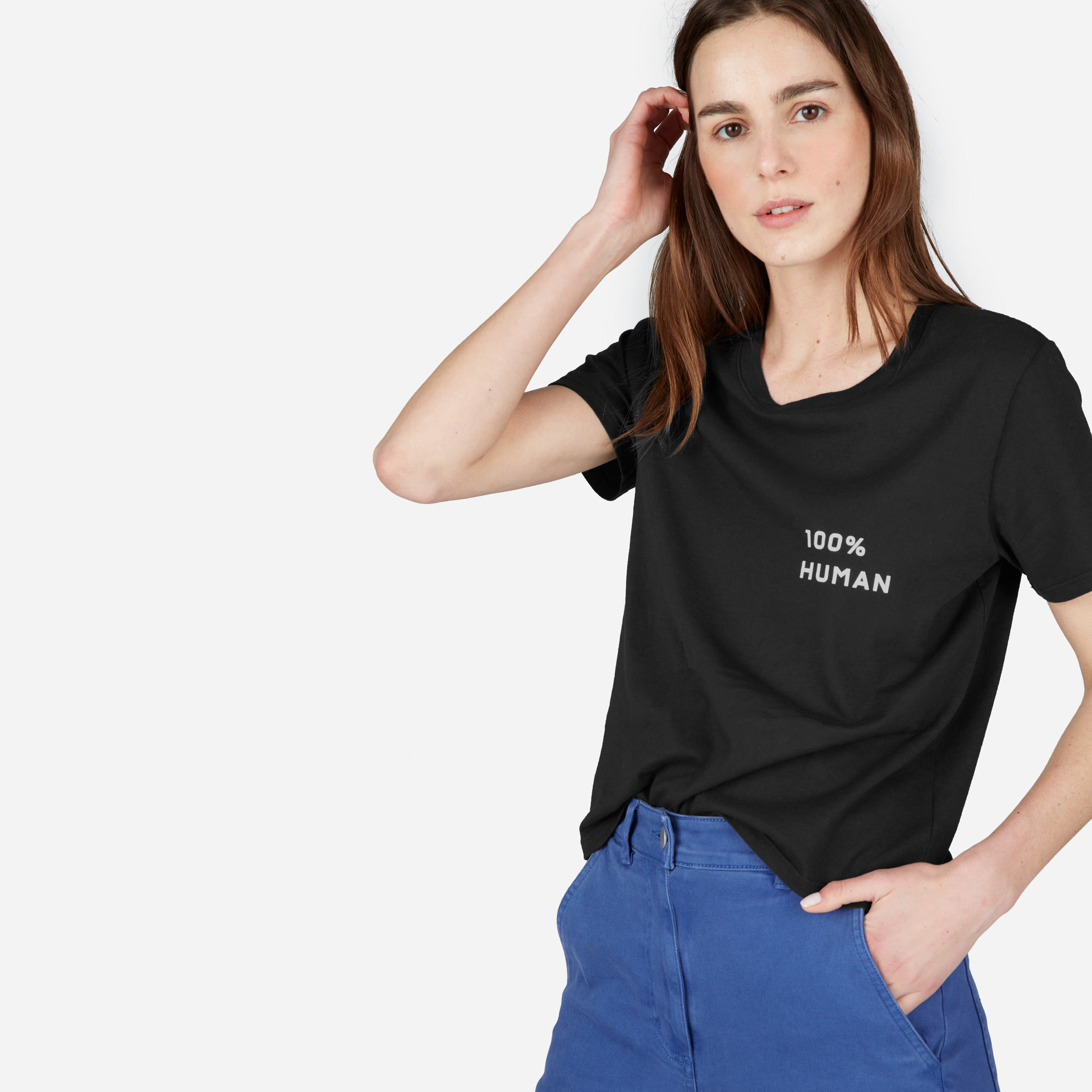 100% Human Graphic Tee from Everlane