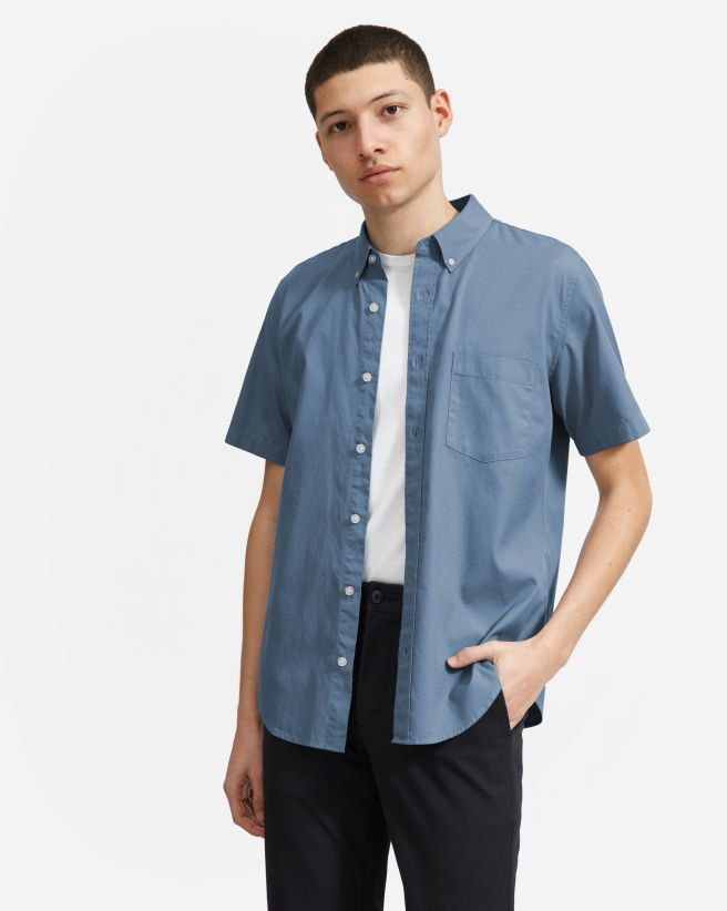 ca261912cd8b0 Men's Button Down Shirts: Slim Fit, Modern, Denim and More | Everlane