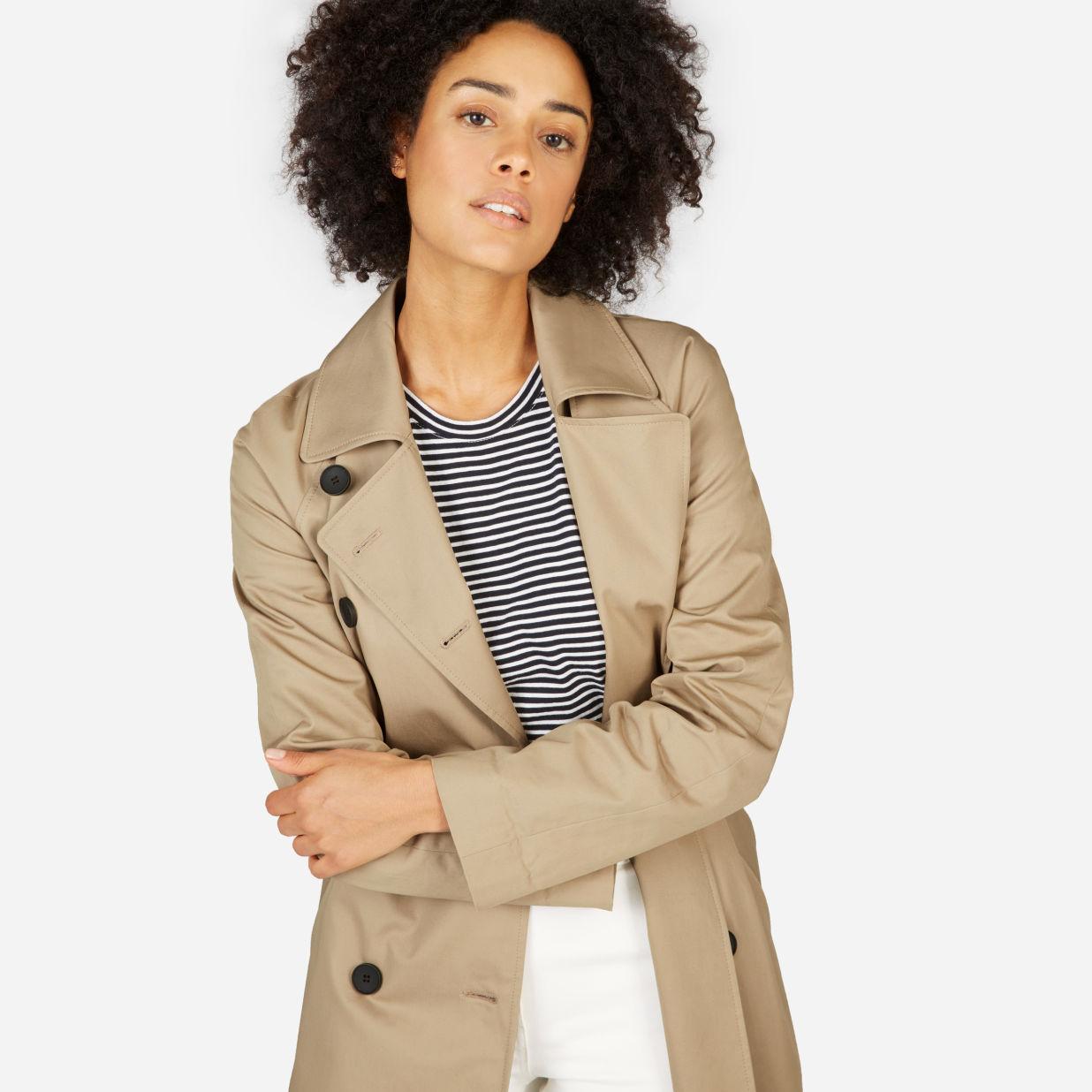 size 40 e5d24 7e540 The Drape Trench Coat