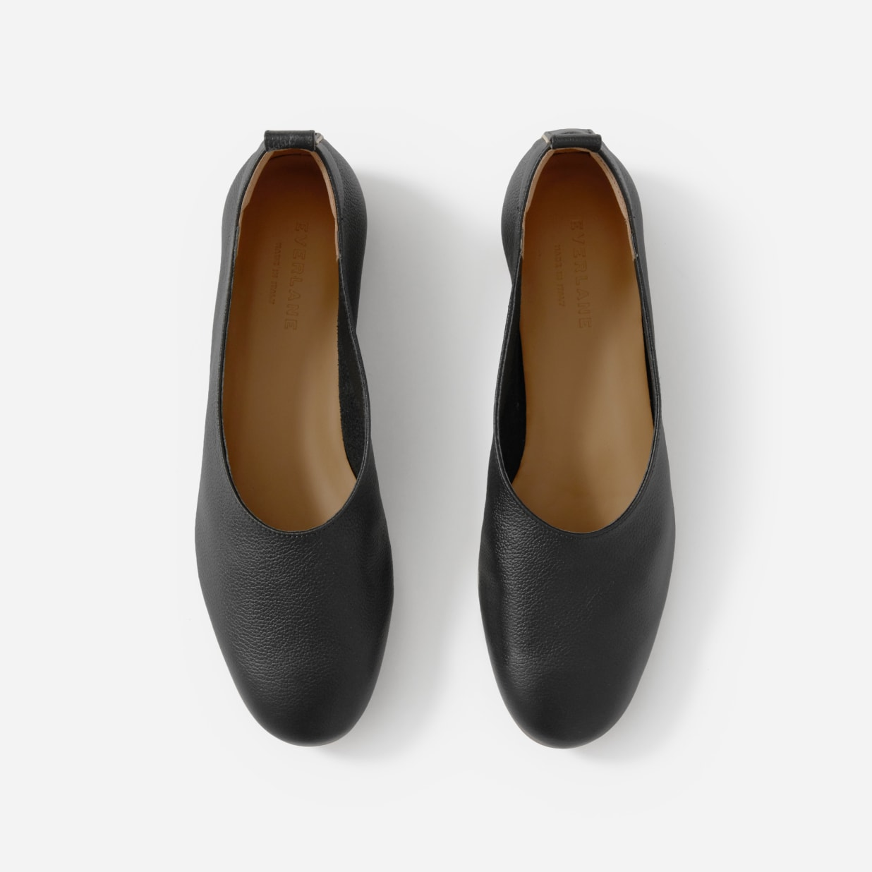 Glove shaped with block heels: ballet pumps have had a make over