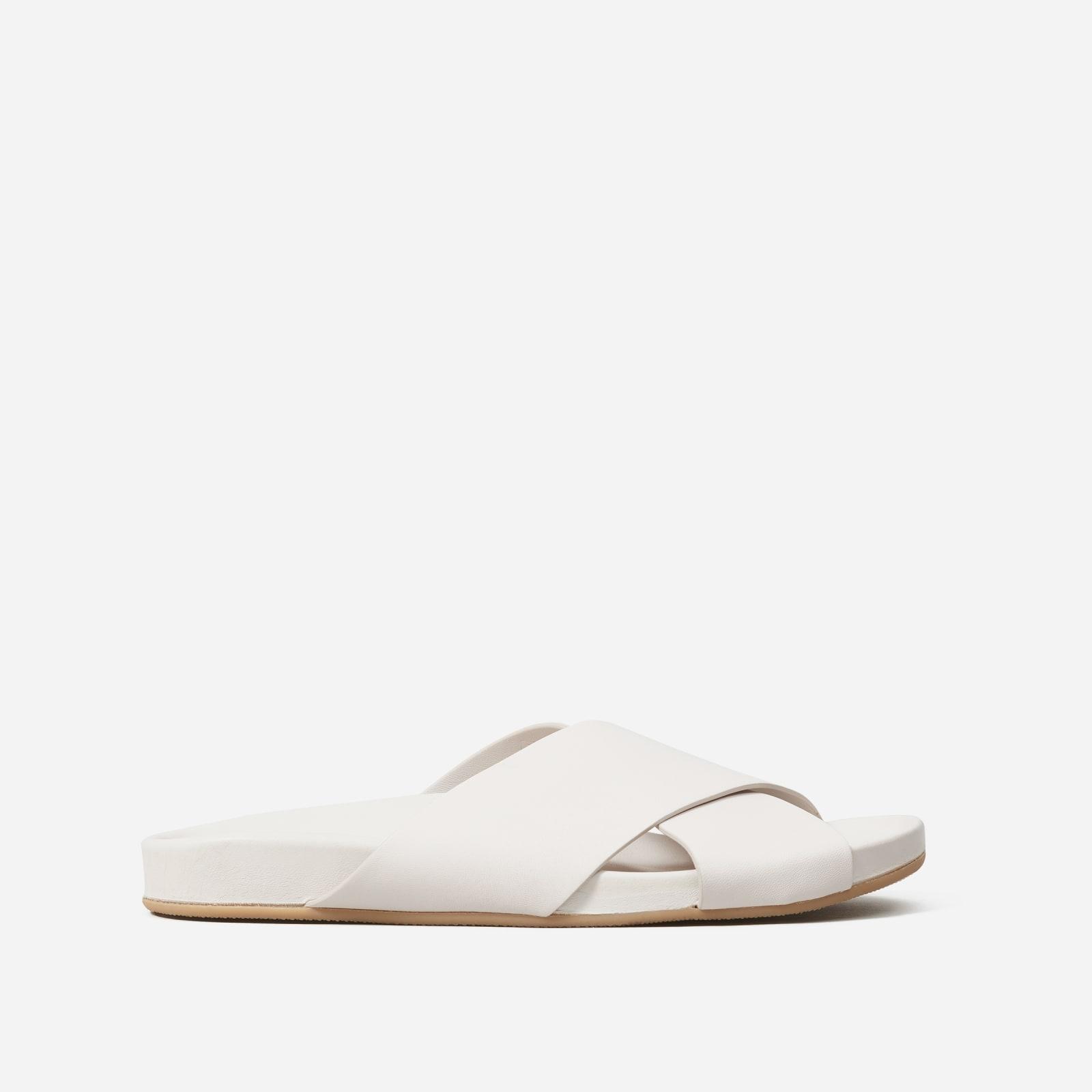 form crossover sandal by everlane in sandstone, size 5