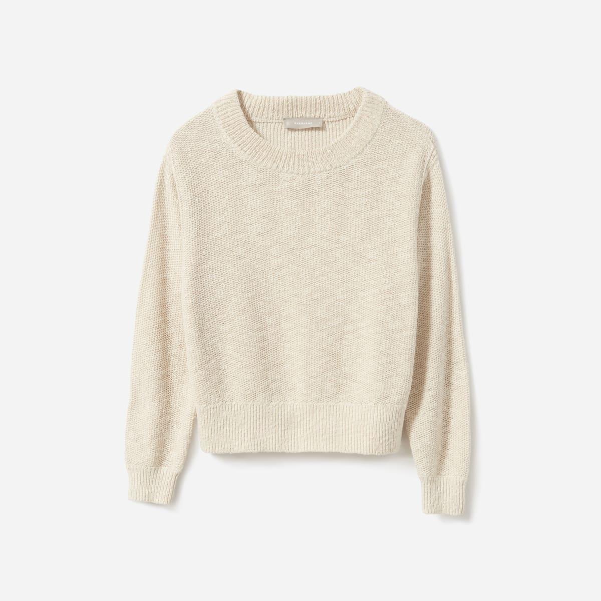 The Cotton-Linen Crew | Everlane