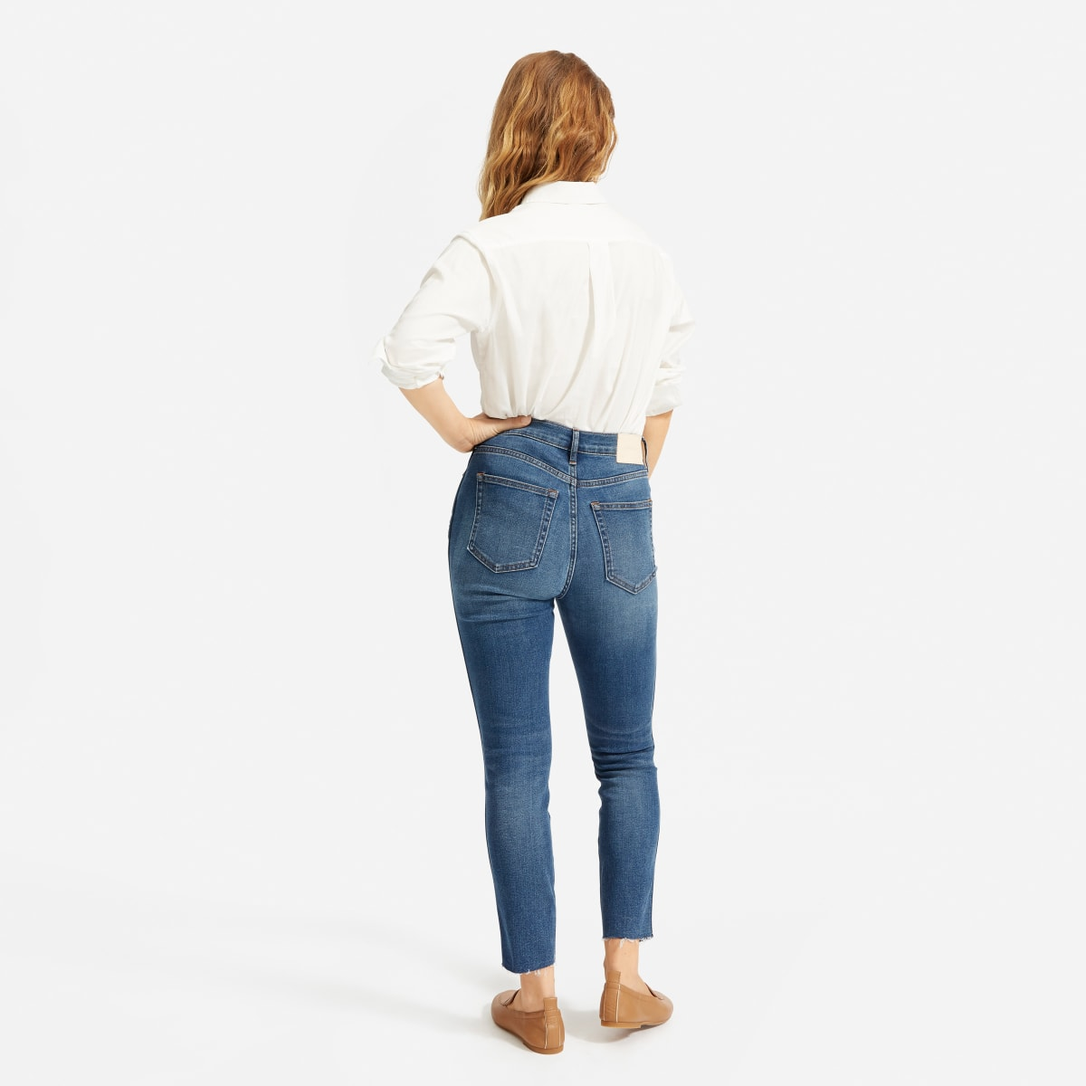 Authentic Stretch High-Rise Skinny Button Fly | Everlane