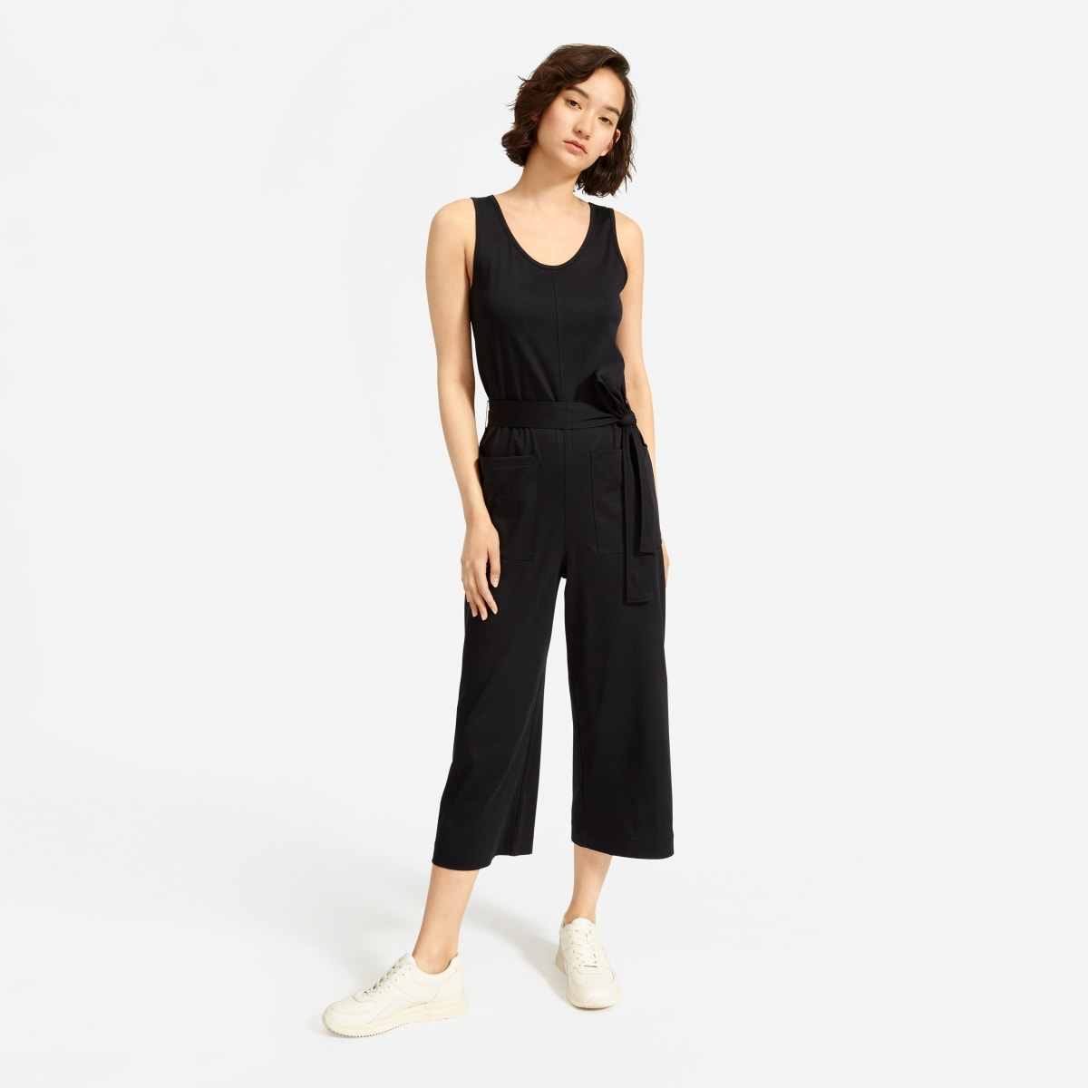 The Luxe Cotton Jumpsuit