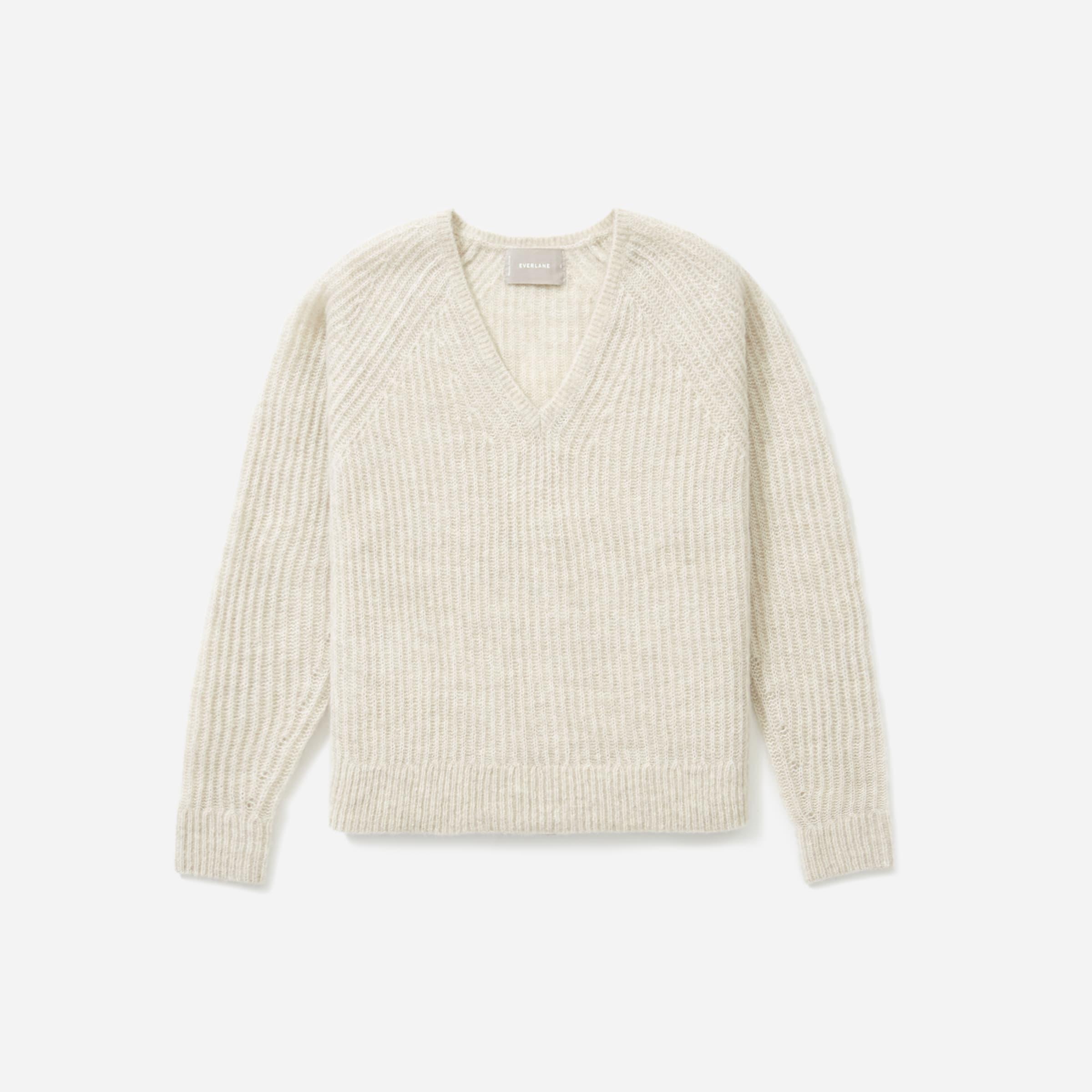 The Alpaca V-Neck Sweater | Everlane