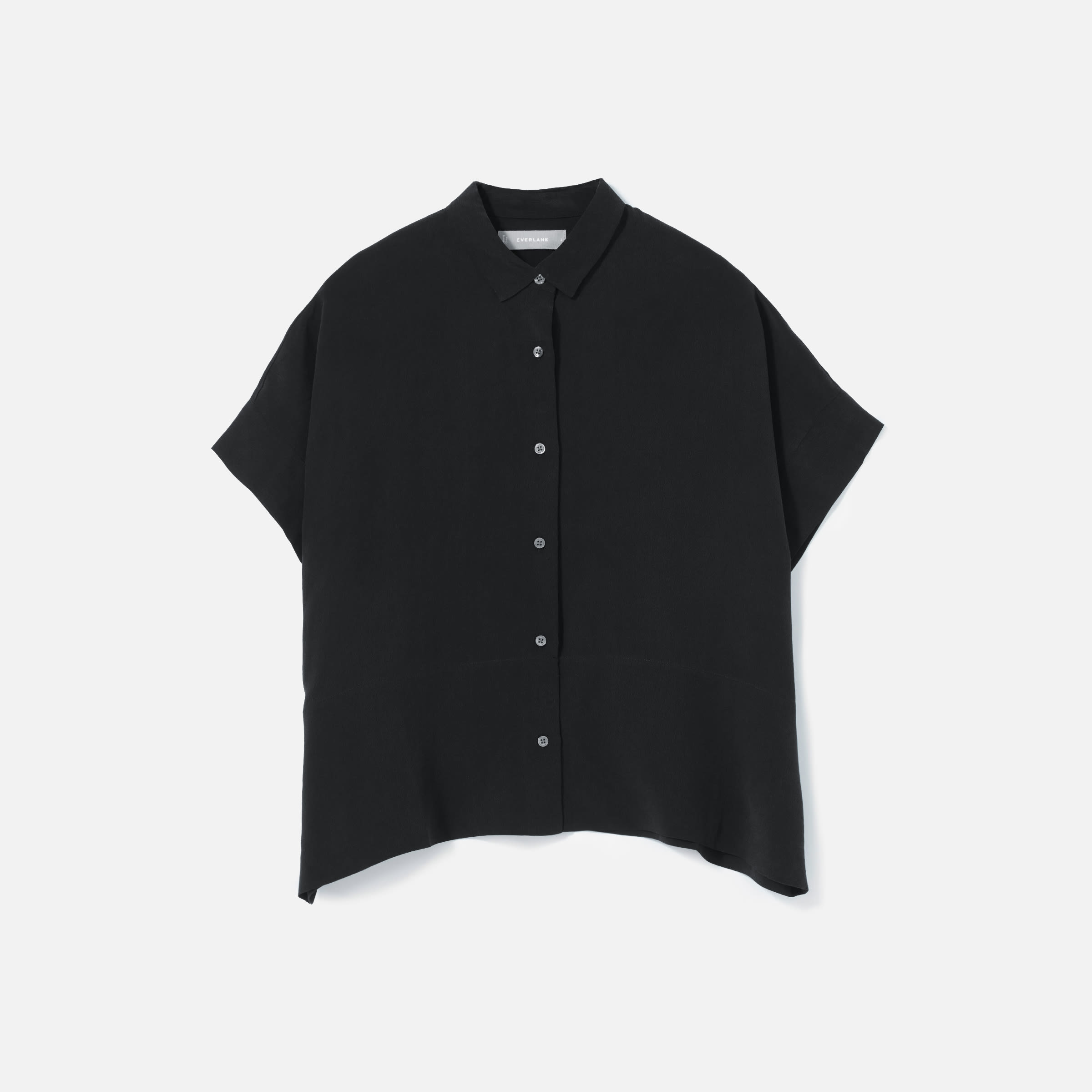 The Clean Silk Short-Sleeve Square Shirt | Everlane