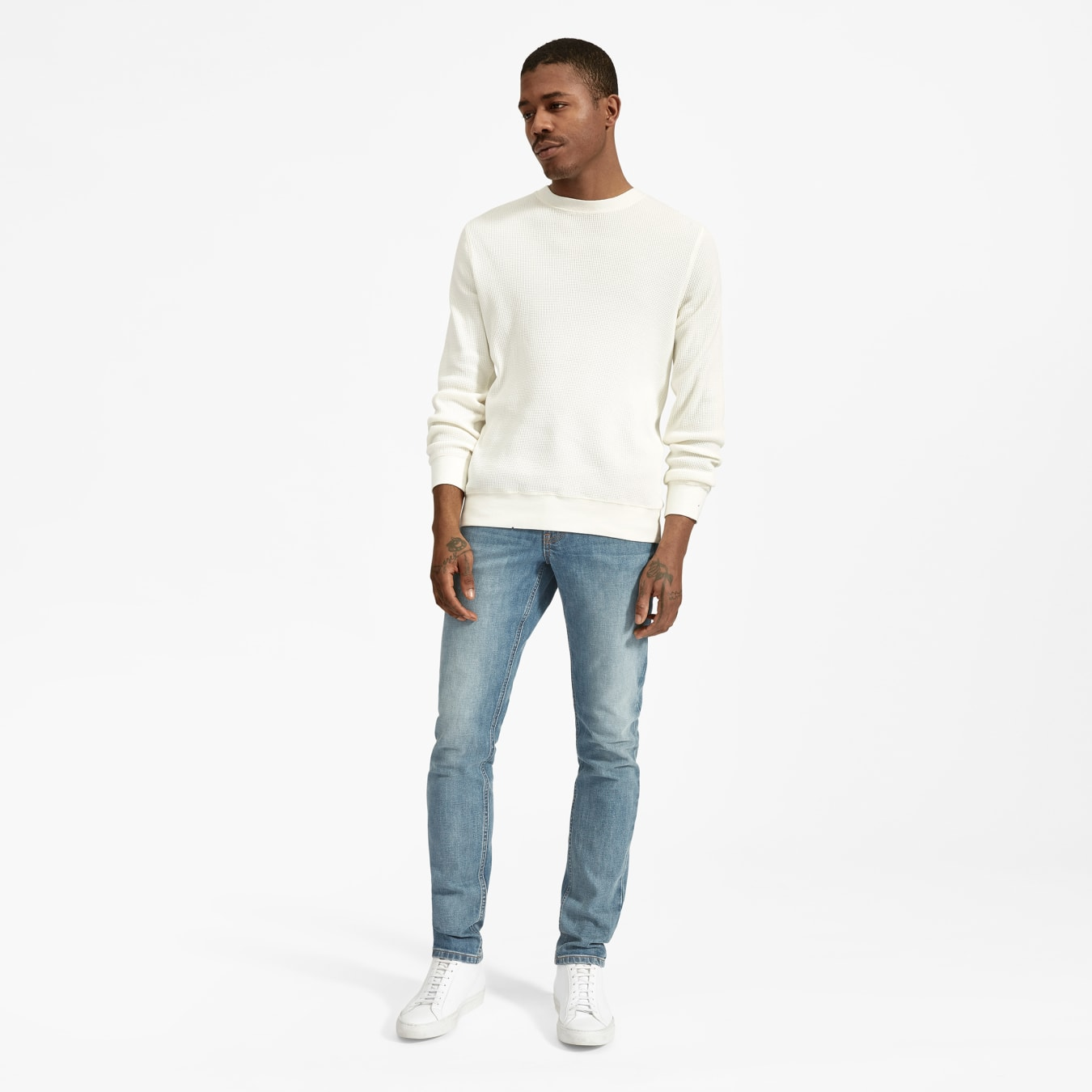 Slim Fit Pents In High Quality Stretch Cotton Chino Drop Cotton Jeans for  Man