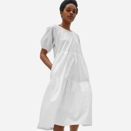 Everlane Tiered Cotton Dress