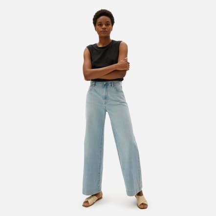 Everlane Super Soft Wide Leg Jeans