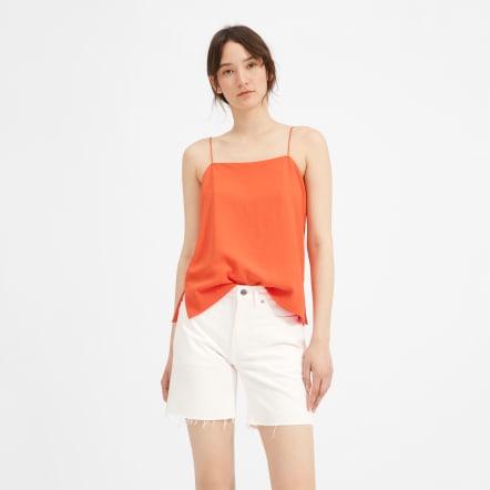 Everlane White Denim Shorts