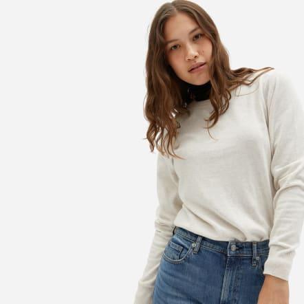 Everlane Organic Cotton Crew Neck Sweater
