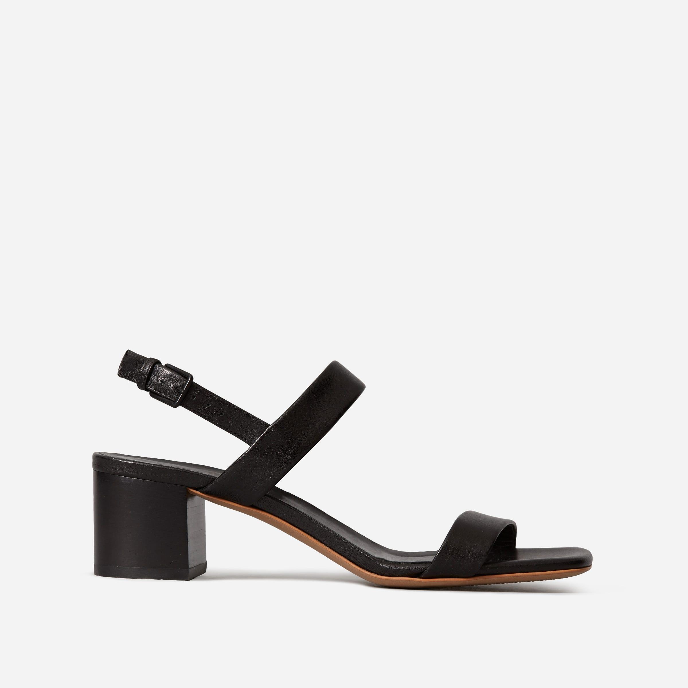The Double-Strap Block Heel Sandal | Everlane