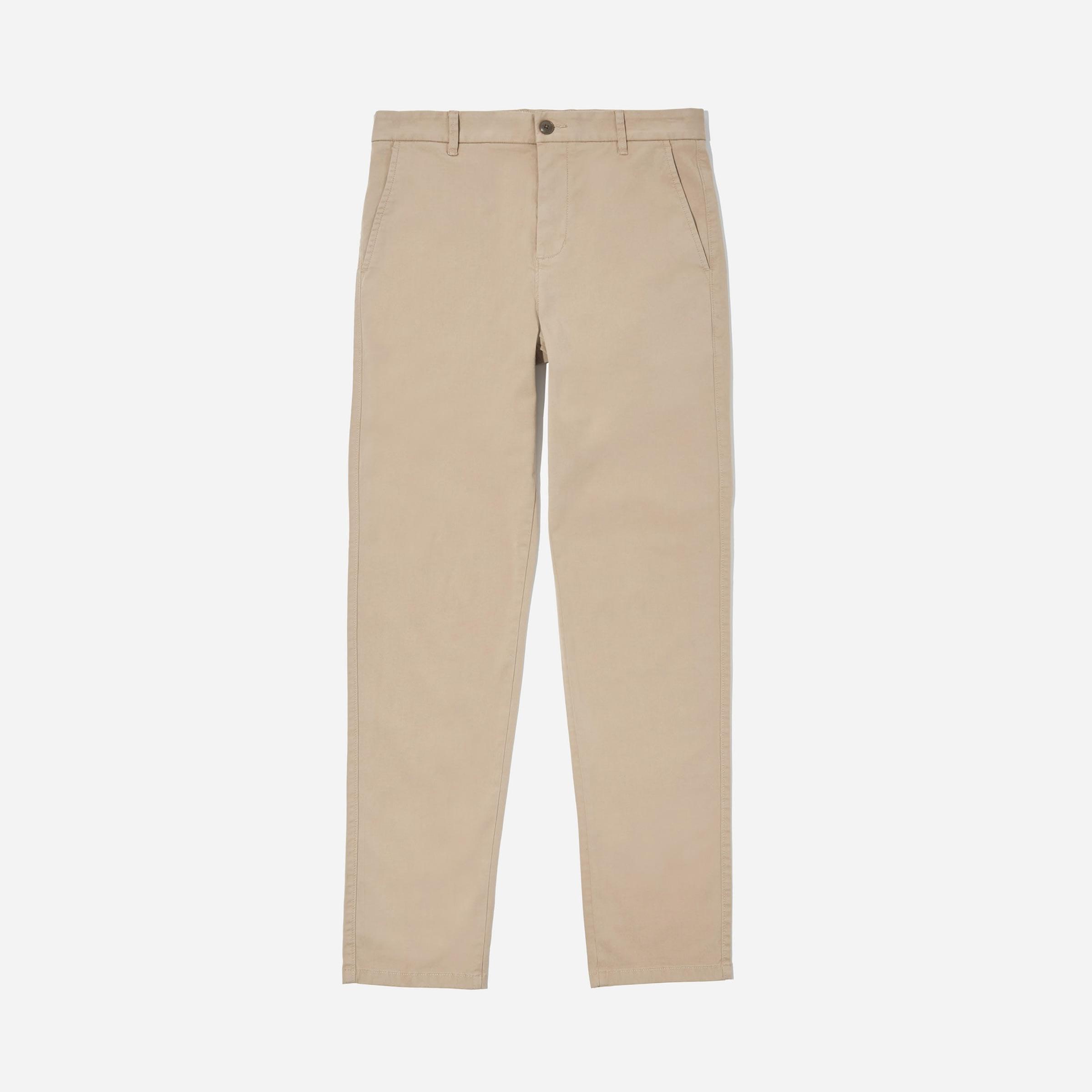 men s khaki pants everlane