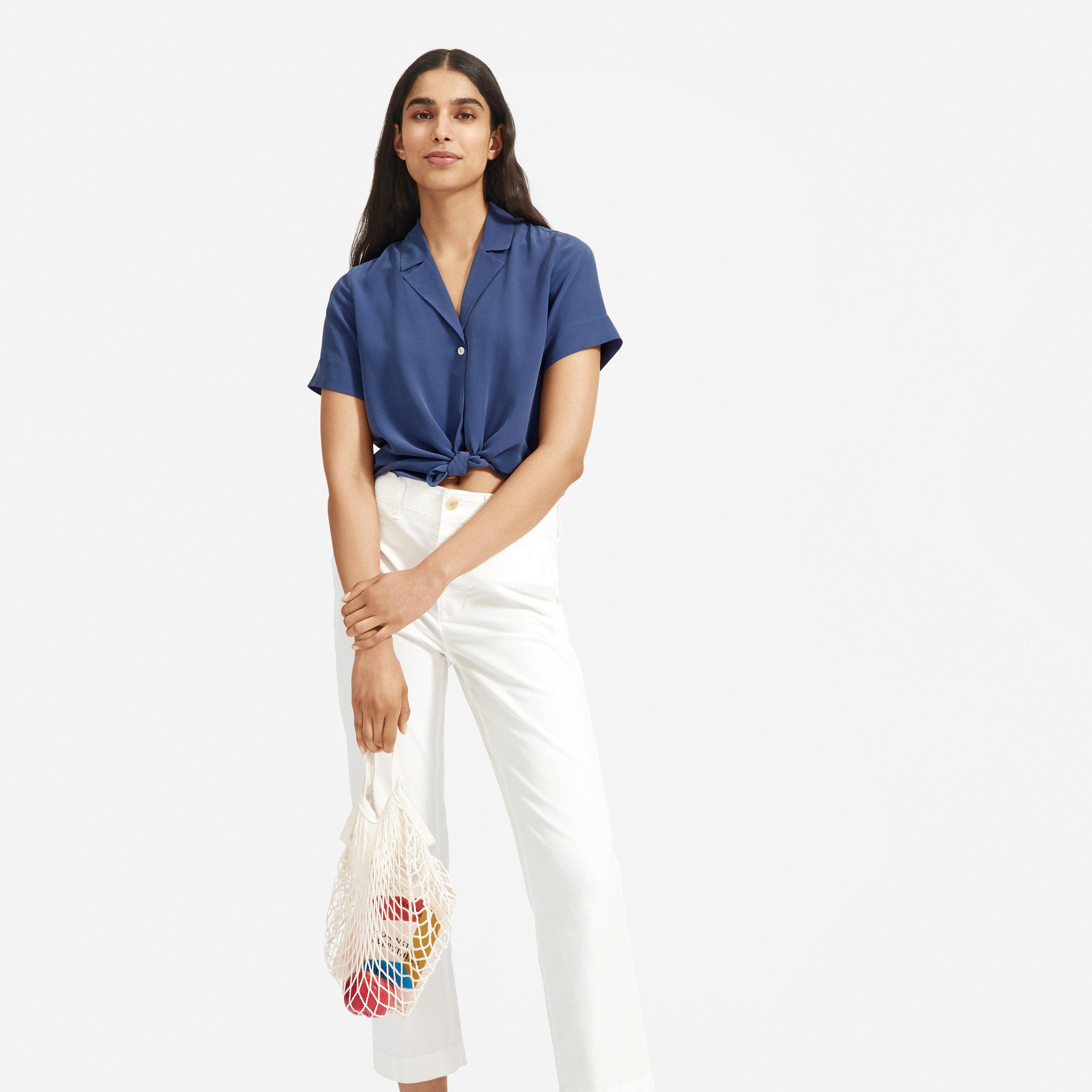 888abf6f1dc Women's Shirts, Tops & Silk Blouses | Everlane