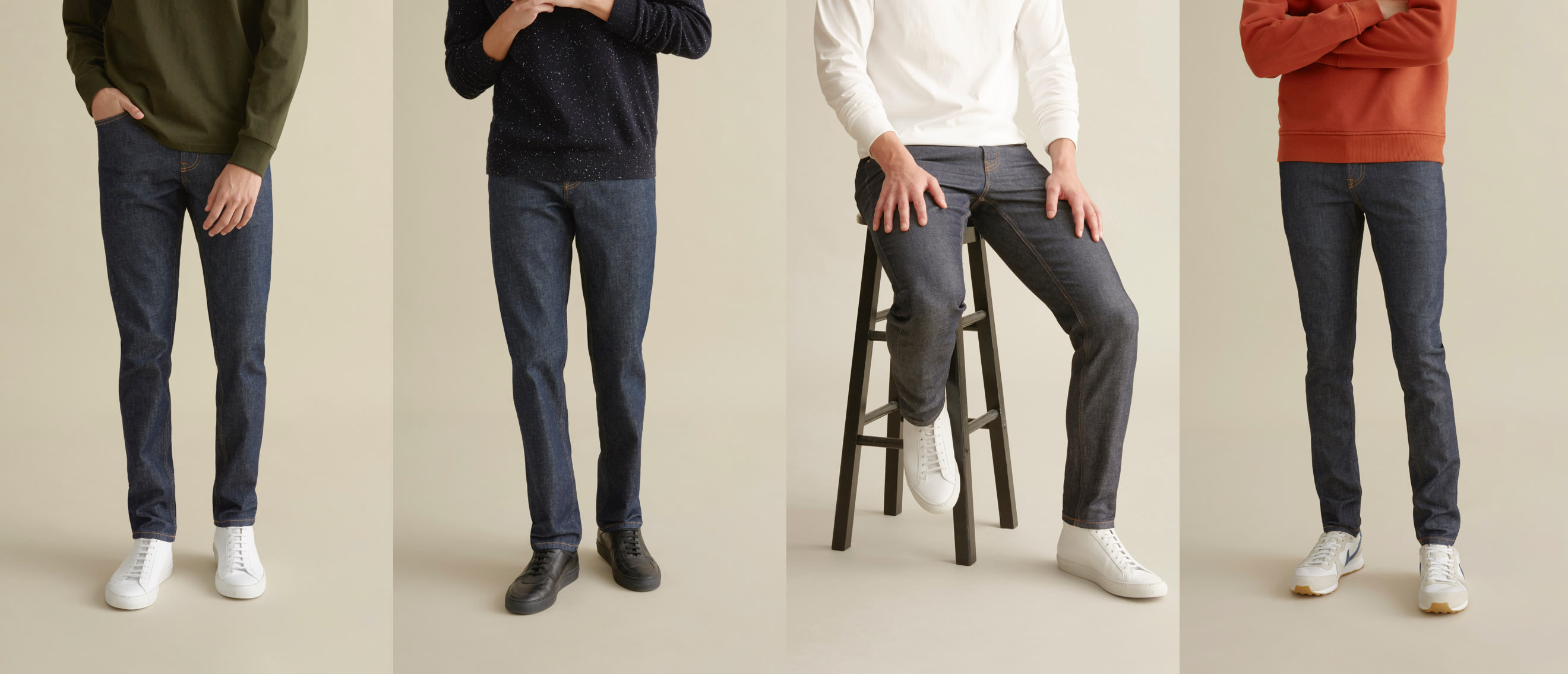 3053e92e Japanese Denim Slim Fit & Skinny Jeans for Men | Everlane