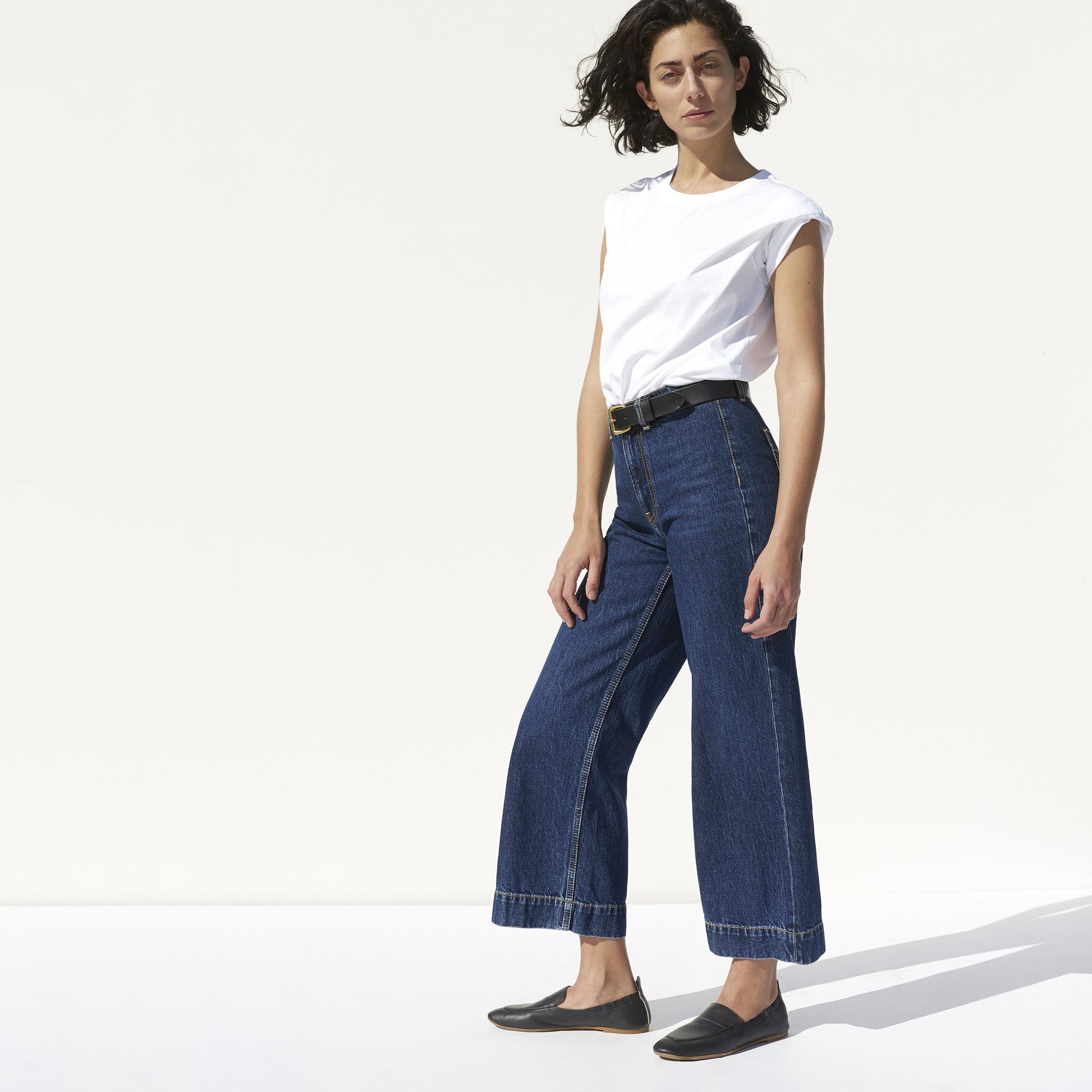 35d6c6835c895e The Edition 02 Wide Leg Crop Jean
