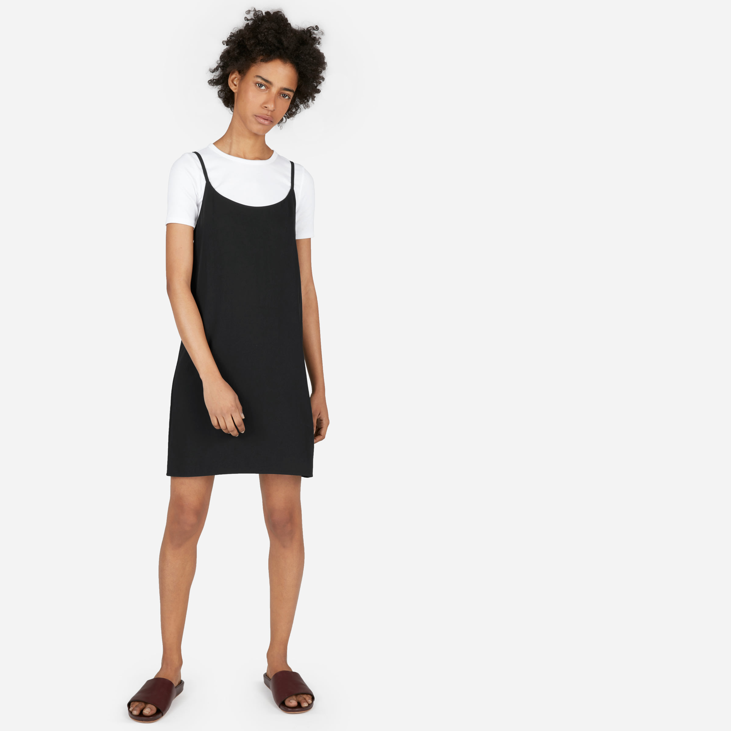 23b9742ab4877 Women's Japanese GoWeave Mini Slip Dress   Everlane