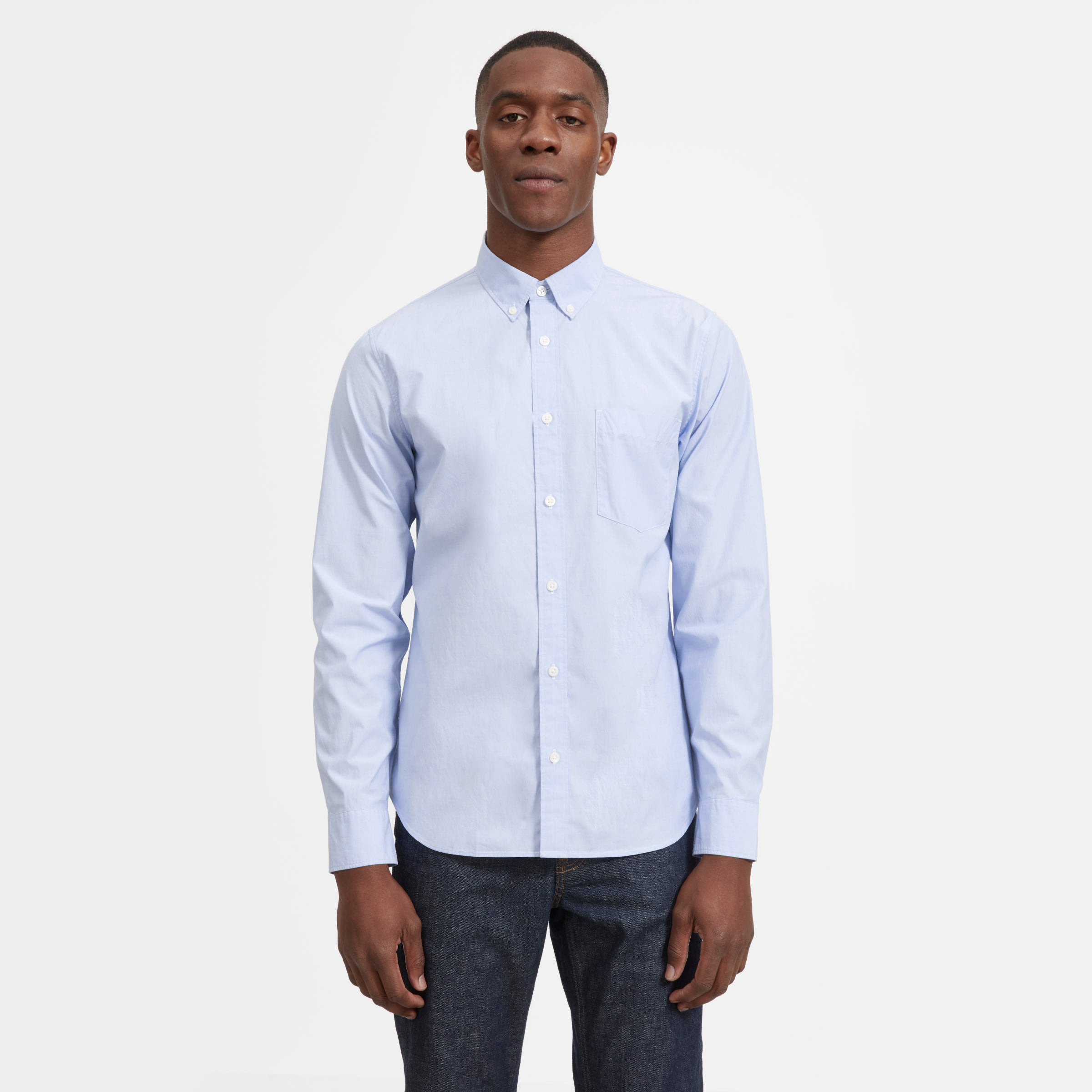 e2bb5eb10460 Men's Cotton Slim Fit Shirt | Everlane