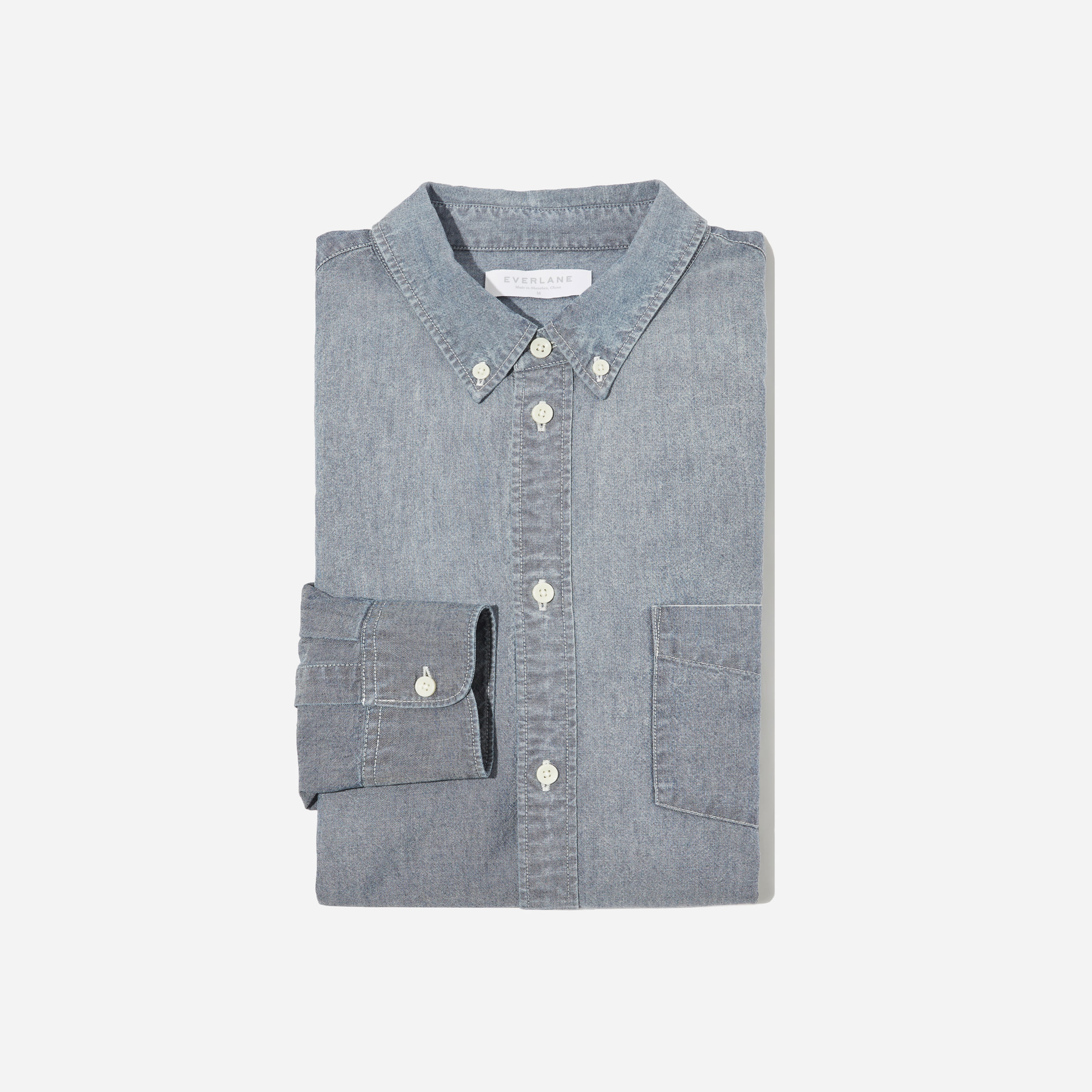 7803aa900bc Men s Chambray Slim Fit Shirt