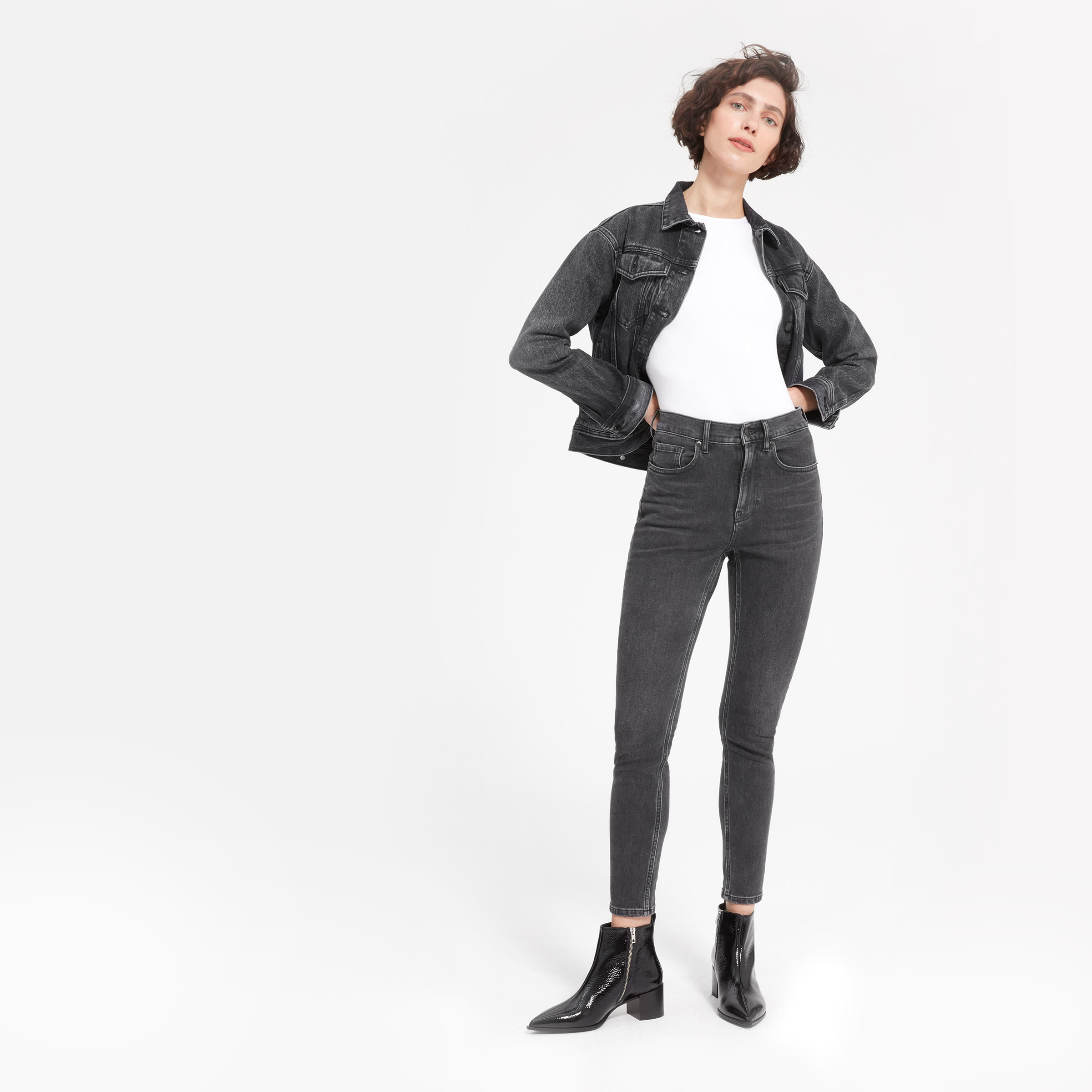 The High Rise Skinny Jean by Everlane