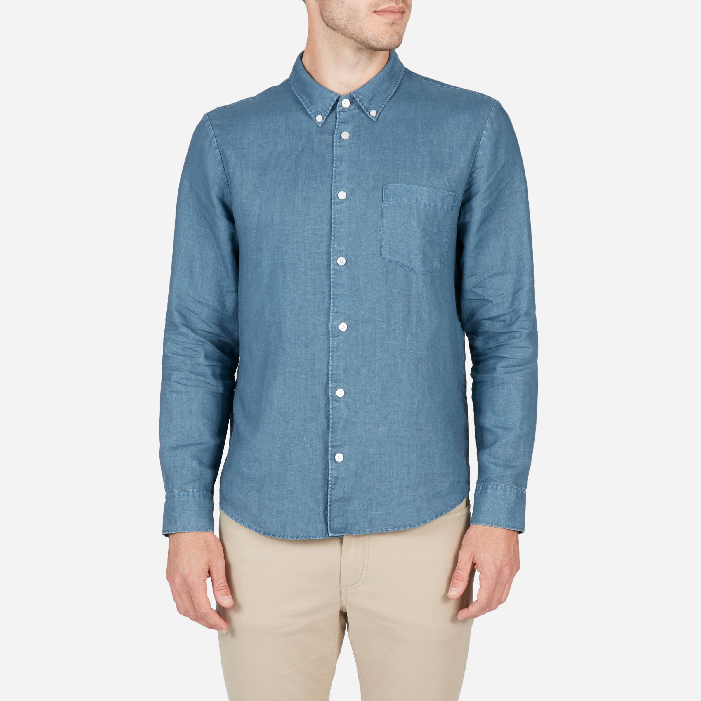 084f0f9a0e4671 Men's Linen Slim Fit Shirt   Everlane