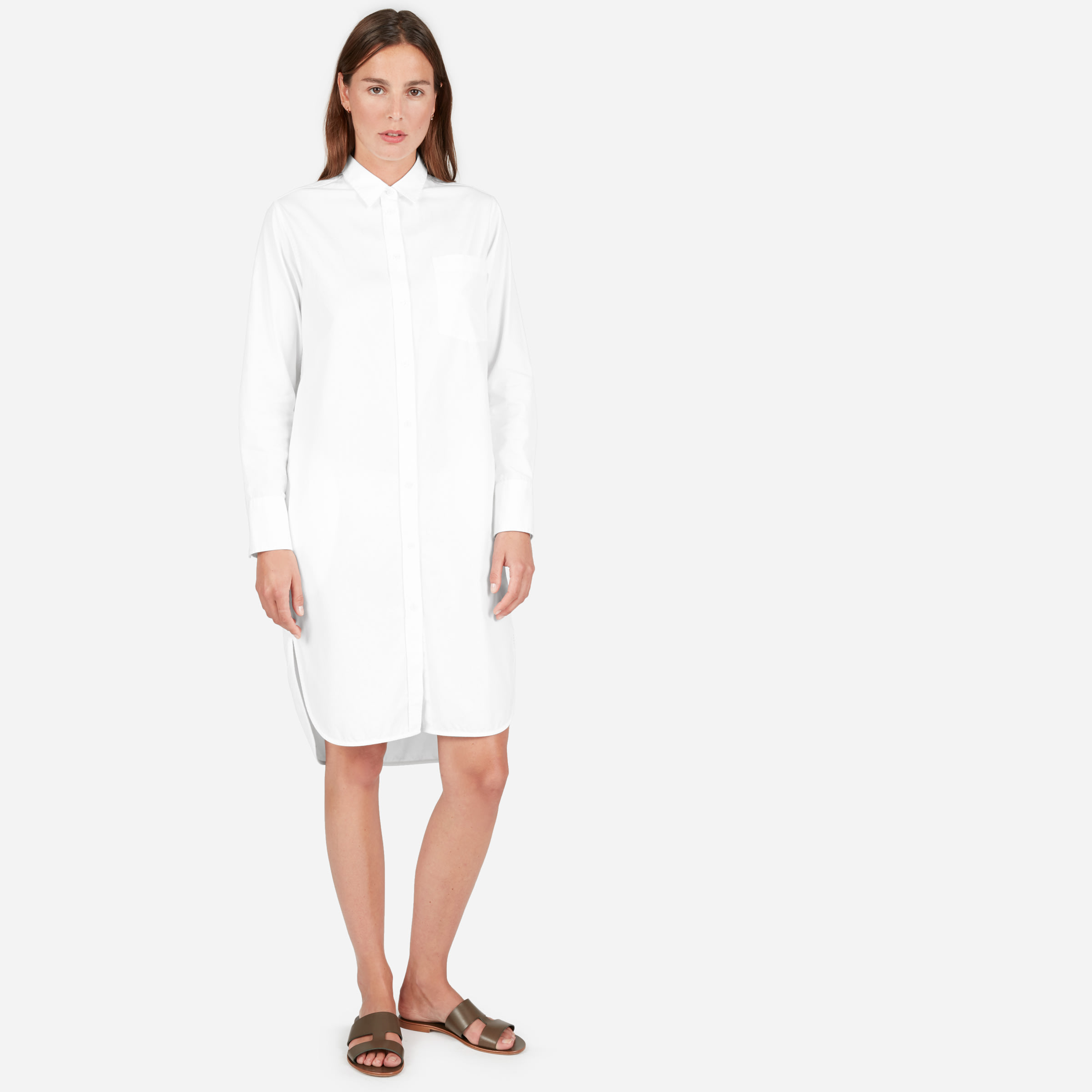 2fedd6df63 The Cotton Pocket Shirt Dress —  78