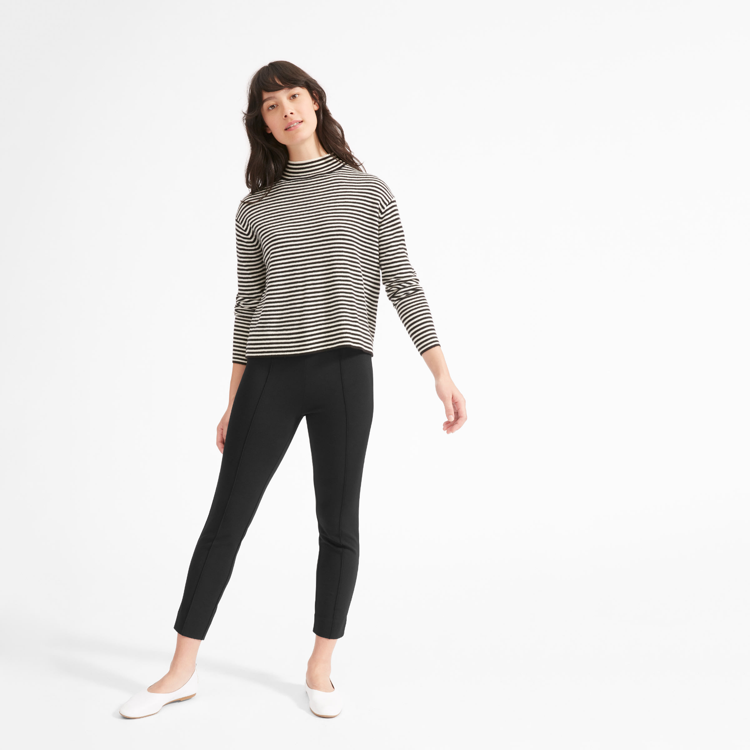 55c772420 Women's Stretch Ponte Crop Pant | Everlane