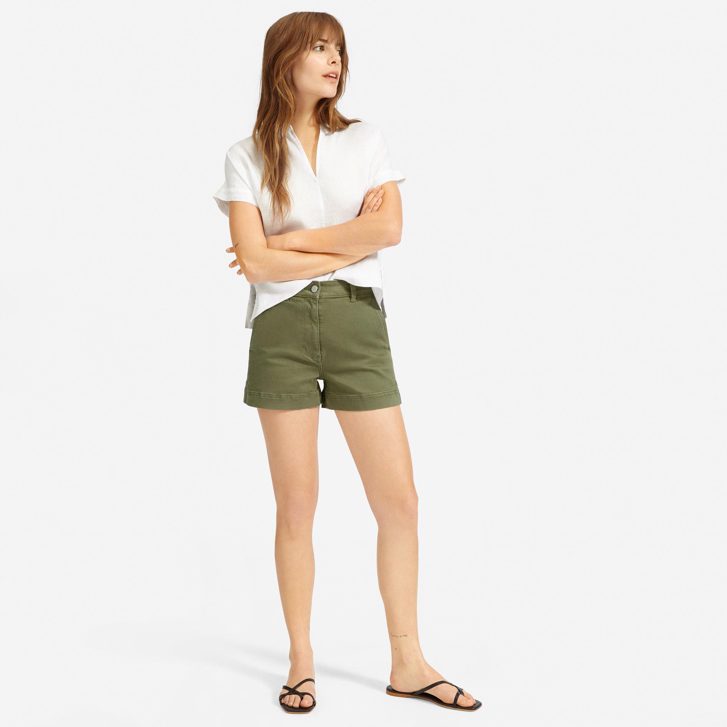 9bb51ffc19c Women's Cotton Twill Short | Everlane