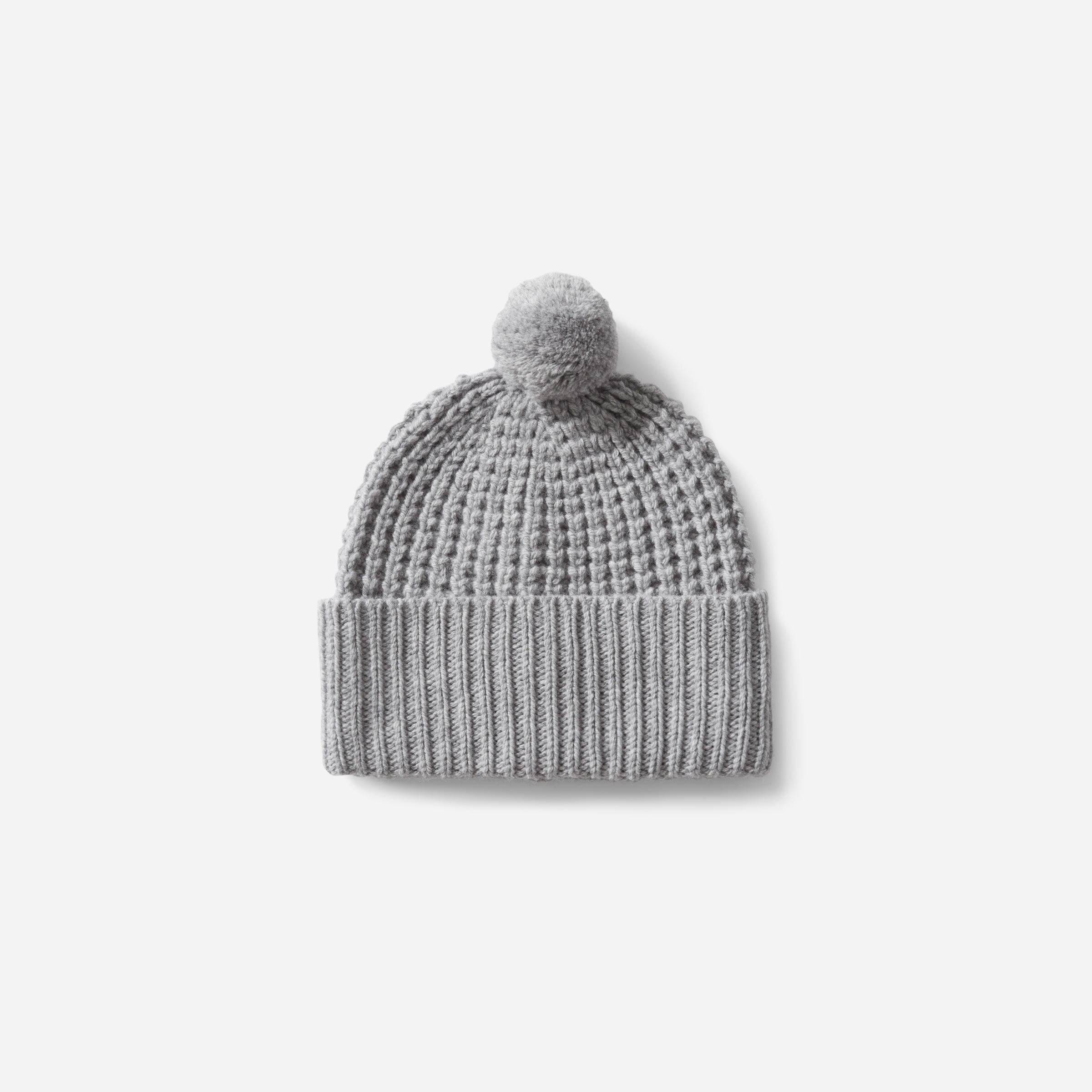 d102be6080c Men s Soft Wool Waffle Beanie
